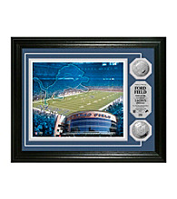 Ford Field Silver Coin Photomint by Highland Mint