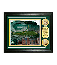 Lambeau Field Gold Coin Photomint by Highland Mint