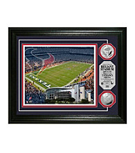 Reliant Stadium Silver Coin Photomint by Highland Mint