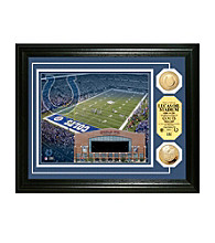 Lucas Oil Stadium Gold Coin Photomint by Highland Mint