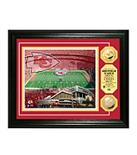 Arrowhead Stadium Gold Coin Photomint by Highland Mint