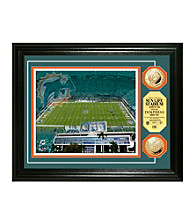 Sun Life Stadium Gold Coin Photomint by Highland Mint