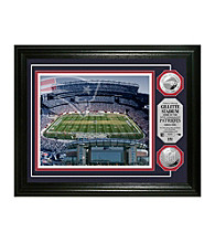 Gillette Stadium Silver Coin Photomint by Highland Mint