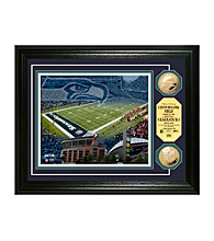 CenturyLink Field Gold Coin Photomint by Highland Mint