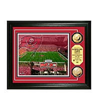 Raymond James Stadium Gold Coin Photomint by Highland Mint