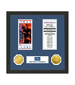 NFl® Baltimore Colts Super Bowl V Championship Ticket Collection