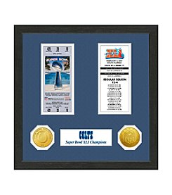 NFL® Indianapolis Colts Super Bowl Championship Ticket Collection