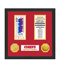 NFL® Kansas City Chiefs Super Bowl Championship Ticket Collection