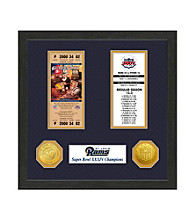 St.Louis Rams SB Championship Ticket Collection by Highland Mint