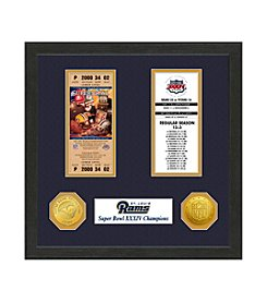 NFL® St.Louis Rams Super Bowl Championship Ticket Collection