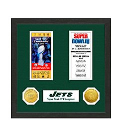 NFL® New York Jets Super Bowl Championship Ticket Collection