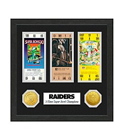 NFL® Oakland Raiders Super Bowl Championship Ticket Collection
