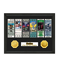 Pittsburgh Steelers SB Championship Ticket Collection by Highland Mint
