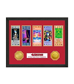 NFL® San Francisco 49ers Super Bowl Championship Ticket Collection