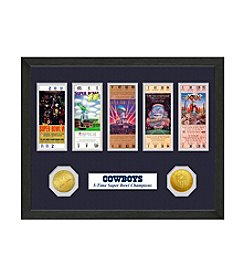 NFL® Dallas Cowboys Super Bowl Championship Ticket Collection