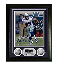 Miles Austin Silver Coin Photo Mint by Highland Mint