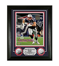 Rob Gronkowski Silver Coin Photo Mint by Highland Mint