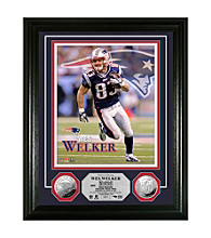 Wes Welker Silver Coin Photo Mint by Highland Mint