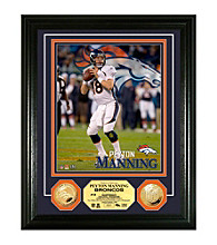 Peyton Manning Gold Coin Photomint by Highland Mint