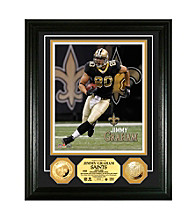 Jimmy Graham Gold Coin Photomint by Highland Mint
