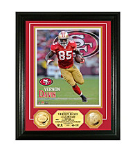 Vernon Davis Gold Coin Photomint by Highland Mint