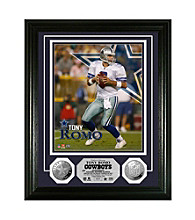 Tony Romo Silver Coin Photo Mint by Highland Mint