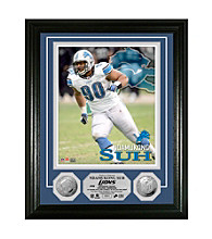 Ndamukong Suh Silver Coin Photomint by Highland Mint