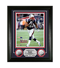 Jerod Mayo Silver Coin Photo Mint by Highland Mint