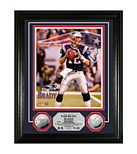 Tom Brady Silver Coin Photo Mint by Highland Mint