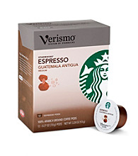 Starbucks® Verismo® Espresso Guatemala Antigua 12-pk. Coffee Pods
