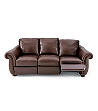 Softaly Colorado Leather/Match Reclining Sofa