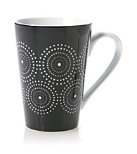 Waechtersbach Konitz Black and White Burst Mug