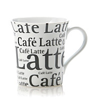 Waechtersbach Konitz Write on White Latte Mug
