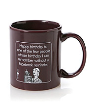 30 Watt Purple Happy Birthday Mug