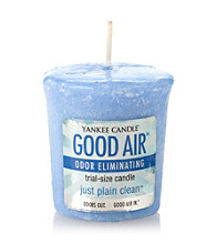 Yankee Candle® Good Air Just Plain Clean Votive Candle