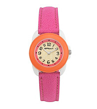 Sprout®Pink/Orange Eco-Friendly Watch