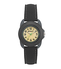 Sprout® Black Eco-Friendly Watch