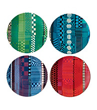 Royal Doulton® Paolozzi Set of 4 Tidbit Plates