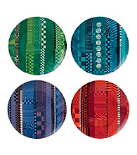 Royal Doulton® Paolozzi Set of 4 Mixed Accent Plates