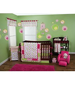 Pink Splash Baby Bedding by Trend Lab