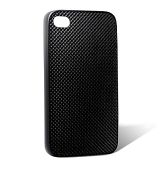 monCarbone Mystery Black Hovercoat Carbon Fiber iPhone 4/4S Case
