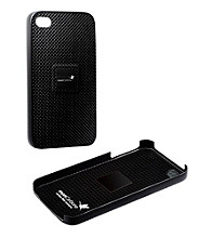 monCarbone Mystery Black Magnet Force Carbon Fiber iPhone 4/4S Case
