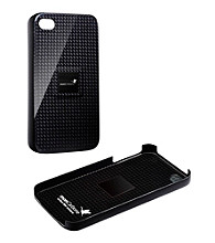 monCarbone Midnight Black Magnet Force Carbon Fiber iPhone 4/4S Case