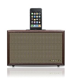 Crosley® iDeco iPod/iPhone Wood Docking Station & Speaker System