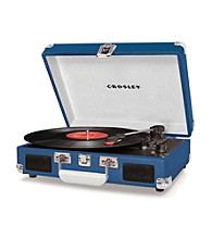 Crosley® Cruiser 3-Speed Portable Turntable with Built-in Speakers
