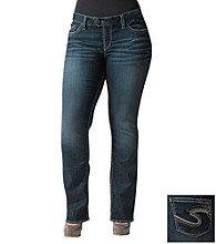 Silver Jeans Co. Plus Size Tuesday Straight Fit Low-Rise Bootcut Jean