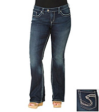 Silver Jeans Co. Plus Size Tuesday Dark Wash Jeans
