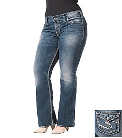 Silver Jeans Co. Plus Size Suki Surplus Curvy Fit Mid Rise Bootcut Jeans