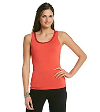 Relativity® Career Missy Sequin Trim Tank