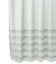 J. Queen New York Shimmer Shower Curtain